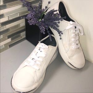 Alexander Wang white sneakers. Size 9
